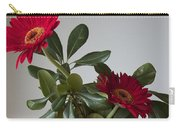 Still Life Flower Study In Red Carry-all Pouch