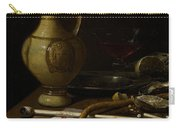 Still Life Carry-all Pouch by Jan Jansz van de Velde
