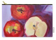 Still Life Kitchen Apple Painting Carry-all Pouch