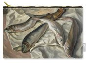 Still Life Of Fish, 1928 Carry-all Pouch