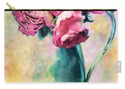 Still Life Roses Carry-all Pouch