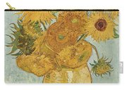 Still Life Sunflowers Carry-all Pouch