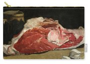Still Life The Joint Of Meat Carry-all Pouch