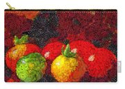 Still Life Tomatoes Fruits And Vegetables Carry-all Pouch