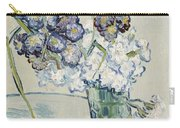 Still Life Vase Of Carnations Carry-all Pouch by Vincent van Gogh