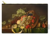 Still Life With A Basket Of Fruit Carry-all Pouch