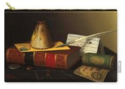 Still Life With A Writing Table Carry-all Pouch