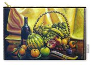 Still Life With Basket Carry-all Pouch