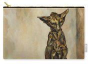 Still Life With Cat Sculpture Carry-all Pouch