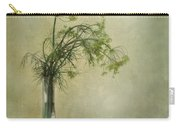 Still Life With Dill And A Cucumber Carry-all Pouch by Priska Wettstein