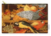 Still Life With Fruit And Macaws, 1622 Carry-all Pouch