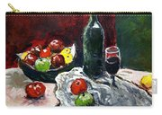 Still Life With Fruits And Wine Carry-all Pouch