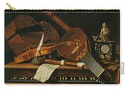 Still Life With Musical Instruments Carry-all Pouch