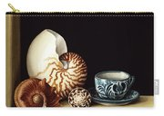 Still Life With Nautilus Carry-all Pouch