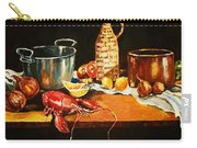 Still Life With Pots Fruit Etc. Carry-all Pouch