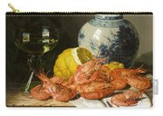 Still Life With Prawns And Lemon Carry-all Pouch