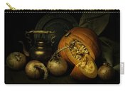 Still Life With Pumpkin And Onions Carry-all Pouch
