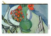 Still Life With Seagulls Poppies And Strawberries Carry-all Pouch