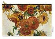 Still Life With Sunflowers Carry-all Pouch