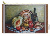 Still Life With Water Melon Carry-all Pouch