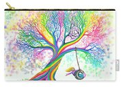 Still More Rainbow Tree Dreams Carry-all Pouch by Nick Gustafson