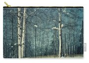 Still Winter Carry-all Pouch by Priska Wettstein