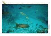 Stingray And Fish Carry-all Pouch