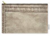 Stitched Seams Carry-all Pouch