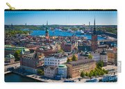 Stockholm From Above Carry-all Pouch