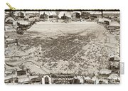Stockton San Joaquin County California  1895 Carry-all Pouch by California Views Mr Pat Hathaway Archives