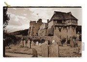 Stokesay Castle Sepia Carry-all Pouch