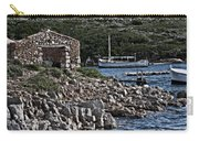 Roman Port Of Sa Nitja In Minorca - Stone And Sea Carry-all Pouch