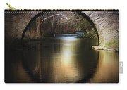 Stone Arch Bridge - Brick Texture Carry-all Pouch