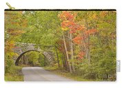 Stone Arch Bridge In Acadia National Park Carry-all Pouch