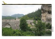 Stone Arch Bridge Over River Verdon Carry-all Pouch