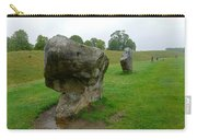 Stone At Avebury Carry-all Pouch