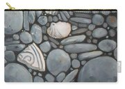 Stone Beach Keepsake Rocky Beach Shells And Stones Carry-all Pouch