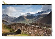 Stone Bridge In Mountain Landscape Carry-all Pouch