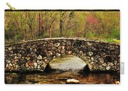 Stone Bridge In The Ozarks Carry-all Pouch by Benjamin Yeager