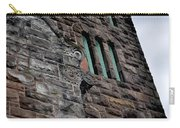 Stone Building Facade With Trefoil Window And Carved Detail Carry-all Pouch