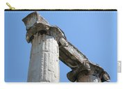 Stone Carved Columns At The Temple Of Aphrodite  Carry-all Pouch