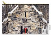 Stone Chapel In The Woods Trapp Family Lodge Stowe Vermont Carry-all Pouch by Edward Fielding