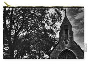 Stone Church In Black And White Carry-all Pouch