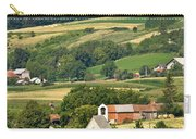 Stone Church In Green Nature Carry-all Pouch