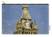 Stone Clock Tower Carry-all Pouch