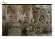 Stone Figures Cambodia Carry-all Pouch