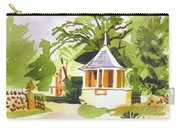 Stone Gazebo At The Maples Carry-all Pouch by Kip DeVore