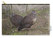 Stone Partridges Carry-all Pouch