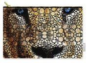 Stone Rock'd Lion 2 - Sharon Cummings Carry-all Pouch