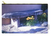Stone Slab Bench 1 Carry-all Pouch